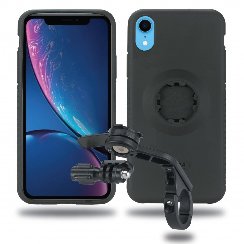Fitclic MountCase Bike Kit Forward for iPhone XR