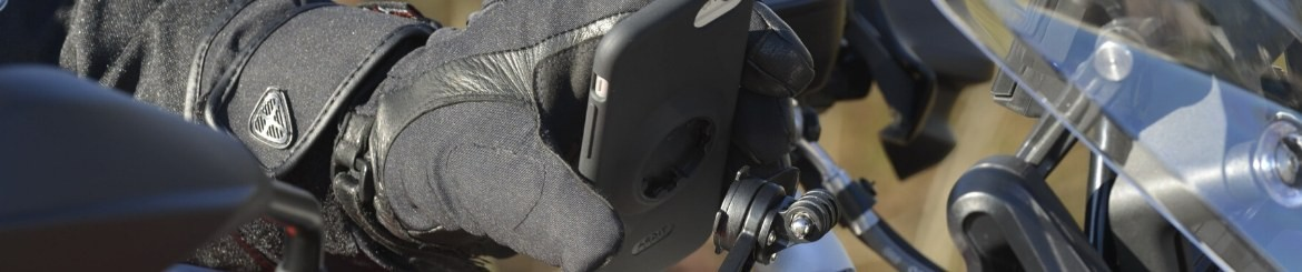 Motorcycle Phone Mounts and Cases | Fitclic | TIGRA SPORT